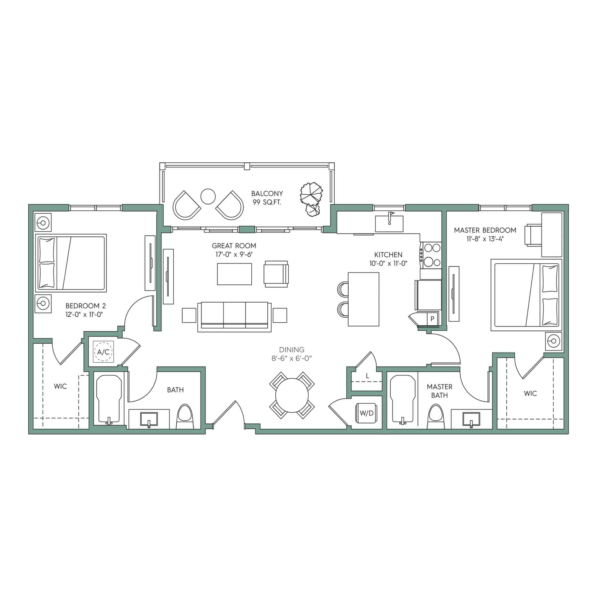SARASOTA: 2-bedroom Downtown Tampa apartment for rent